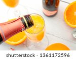 lush mix drinks  summer... | Shutterstock . vector #1361172596