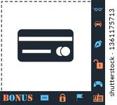credit card. perfect icon with...