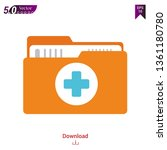 doctor file icon vector...