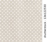 grunge paper seamless pattern... | Shutterstock .eps vector #136122530
