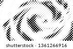 halftone gradient pattern.... | Shutterstock .eps vector #1361266916