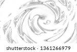 halftone gradient pattern.... | Shutterstock .eps vector #1361266979