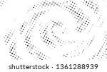 halftone gradient pattern.... | Shutterstock .eps vector #1361288939