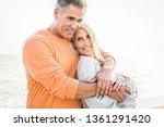 beautiful happy senior couple... | Shutterstock . vector #1361291420