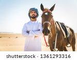 Middle Eastern Handsome Man...
