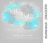 floral background | Shutterstock .eps vector #136131554