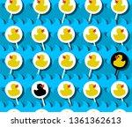 beautiful vector wallpaper with ... | Shutterstock .eps vector #1361362613