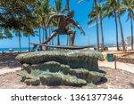 honolulu  hawaii   april 3 ... | Shutterstock . vector #1361377346