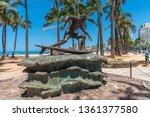 honolulu  hawaii   april 3 ... | Shutterstock . vector #1361377580