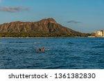 honolulu  hawaii   april 1 ... | Shutterstock . vector #1361382830