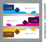 banner background.business... | Shutterstock .eps vector #1361420699