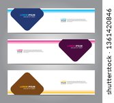 banner background.business... | Shutterstock .eps vector #1361420846