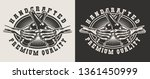 vintage pub monochrome print... | Shutterstock .eps vector #1361450999
