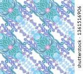 beautiful seamless pattern with ... | Shutterstock .eps vector #1361516906