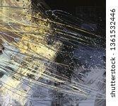 abstract texture. 2d... | Shutterstock . vector #1361532446