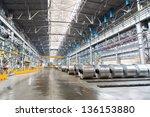 Rolls Of Aluminum Are Stored I...