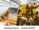 Aluminum Sheet Is Wound On A...