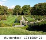 new york botanical garden. | Shutterstock . vector #1361600426