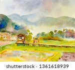 Painting Watercolor Landscape...