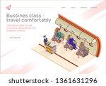 banner inscription bussines... | Shutterstock .eps vector #1361631296