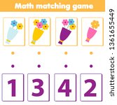 mathematics educational game... | Shutterstock .eps vector #1361655449