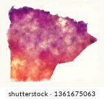 matruh watercolor governorate... | Shutterstock . vector #1361675063