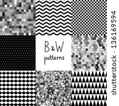abstract,background,black,black and white,cell,checked,checker,checkered,chevron,chic,circle,classic,collection,contrast,cube