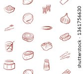 food images. background for... | Shutterstock .eps vector #1361756630