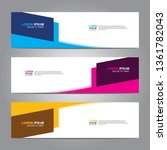 banner background.business... | Shutterstock .eps vector #1361782043