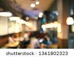 abstract defocused background... | Shutterstock . vector #1361802323