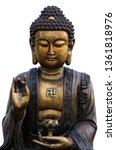 buddha image used as amulets of ... | Shutterstock . vector #1361818976