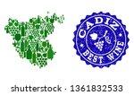 vector composition of grape...   Shutterstock .eps vector #1361832533