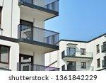 modern european residential... | Shutterstock . vector #1361842229