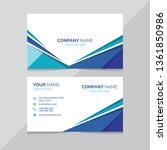 modern and creative business... | Shutterstock .eps vector #1361850986
