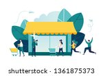 vector illustration  flat style ... | Shutterstock .eps vector #1361875373