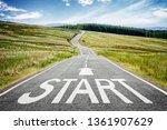 Start Line On The Highway...