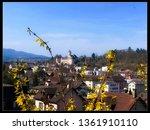 Castle of Porrentruy - Jura Switzerland - Springtime