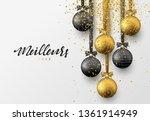 meillieurs voeux joyeux noel... | Shutterstock .eps vector #1361914949