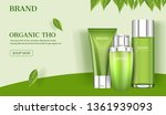 skin care ad  cosmetic product... | Shutterstock .eps vector #1361939093