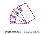 Airmail Envelope Isolated On...