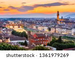 florence  italy. view of...   Shutterstock . vector #1361979269