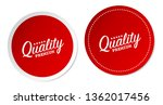 premium quality stickers | Shutterstock .eps vector #1362017456