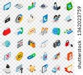 www management icons set.... | Shutterstock .eps vector #1362023759