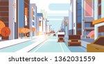 cars driving road traffic urban ... | Shutterstock .eps vector #1362031559