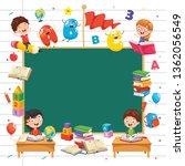 vector illustration of children ... | Shutterstock .eps vector #1362056549