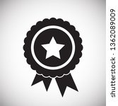 awards icon on background for... | Shutterstock .eps vector #1362089009