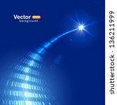 flight to the star   Shutterstock .eps vector #136211999