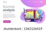 business intelligence experts...   Shutterstock .eps vector #1362126419