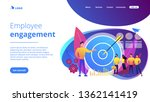 big target  manager and... | Shutterstock .eps vector #1362141419