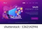 businessman with megaphone...   Shutterstock .eps vector #1362142946